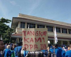 Tolak Revisi UU MD3, Mahasiswa Jogja Gelar Aksi